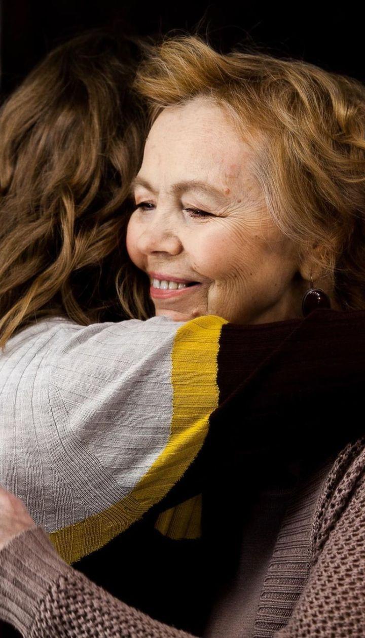Алена Шоптенко с мамой