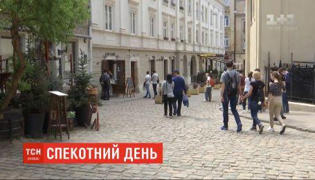 Спекотний день: в Україні повітря прогріється до +27 градусів