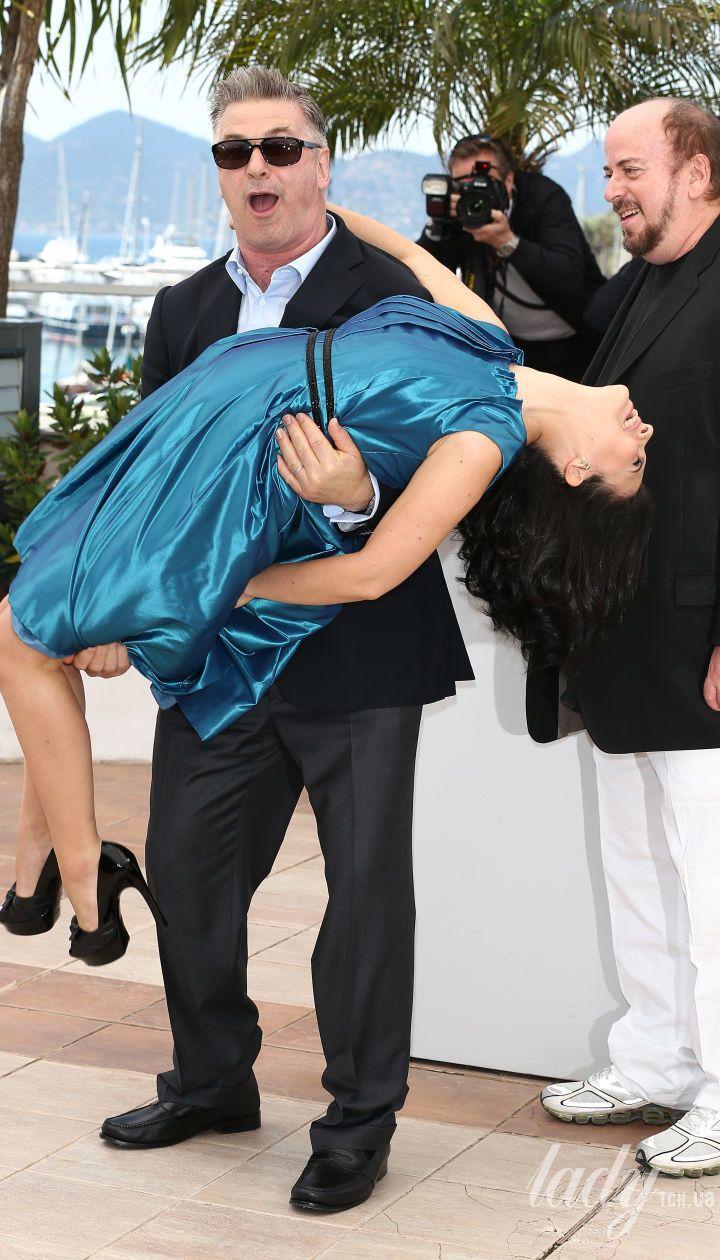 Алек Болдуин с женой Хиларией
