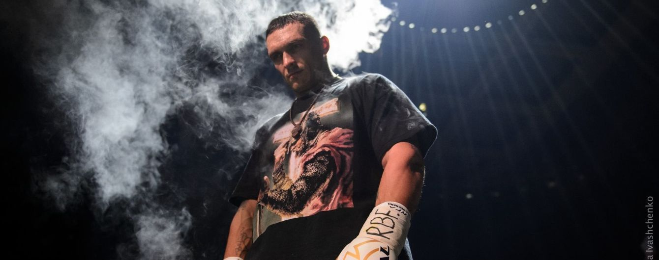 """""""Я обираю зброю - ринг і бокс"""": Усик відповів українському борцю, який викликав його на поєдинок"""
