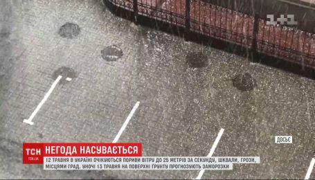 В Украине в ближайшие дни резко ухудшится погода