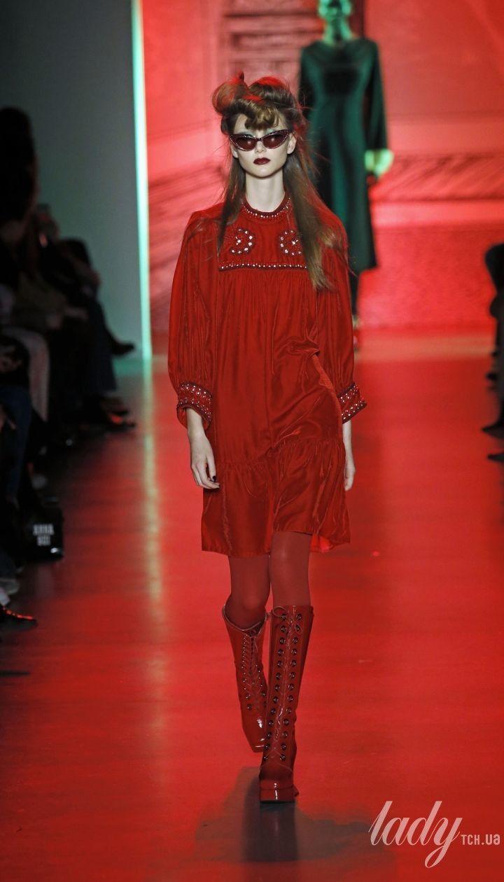 Колекція Anna Sui прет-а-порте сезону осінь-зима 2020-2021 @ East News