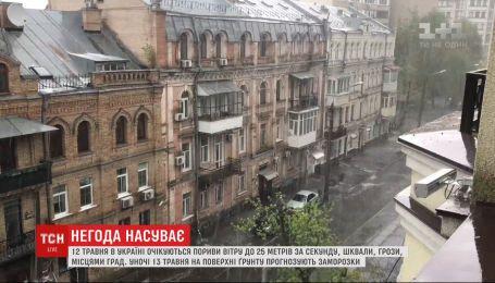 Шквалы, грозы, местами град: в Украине - резкое ухудшение погоды