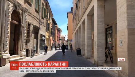 Карантинвідступає: наступного тижня в Італії відкриють бари, ресторани та салони краси