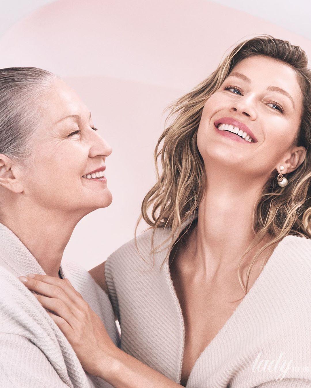 Жизель Бундхен и ее мама_2