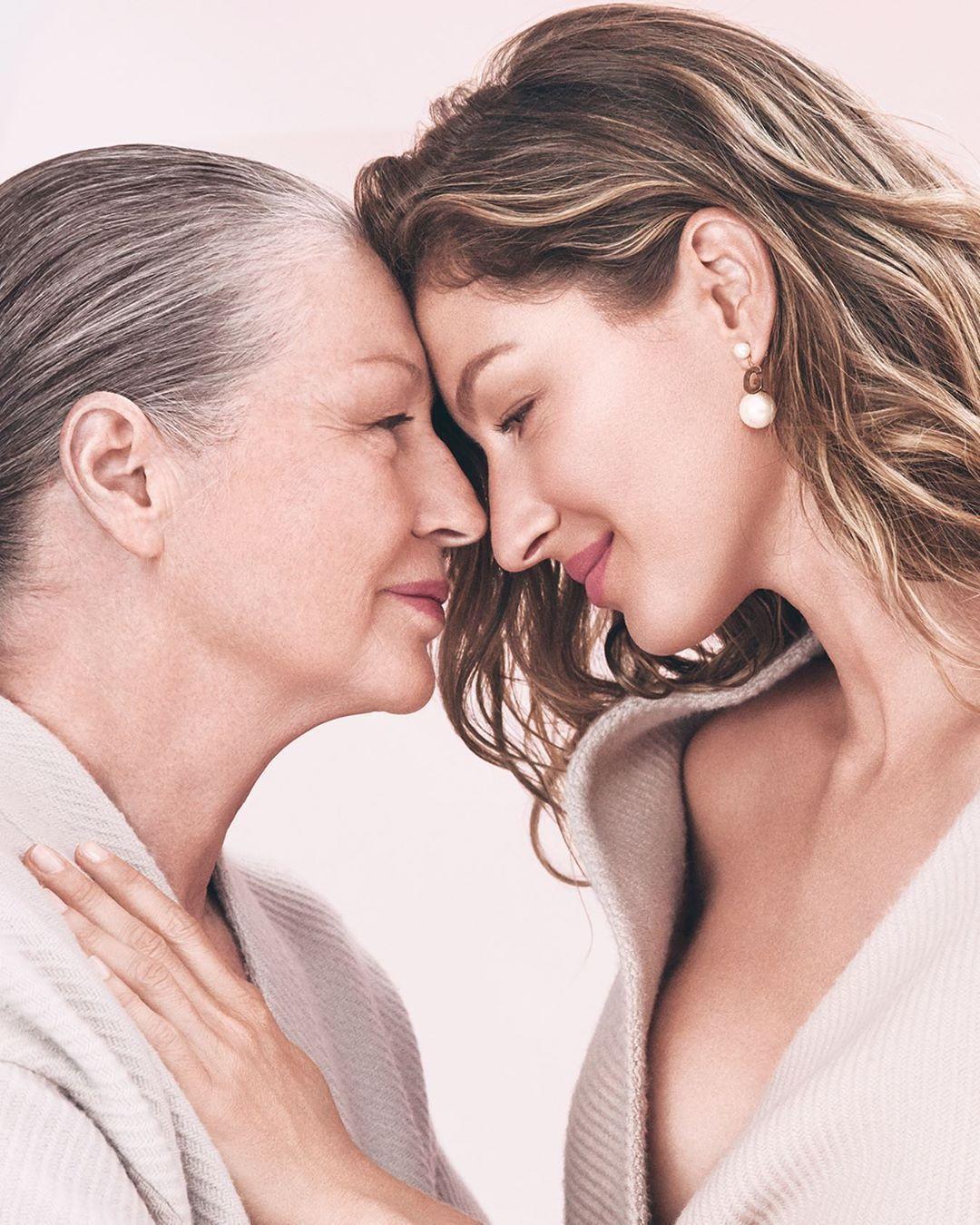 Жизель Бундхен и ее мама_1