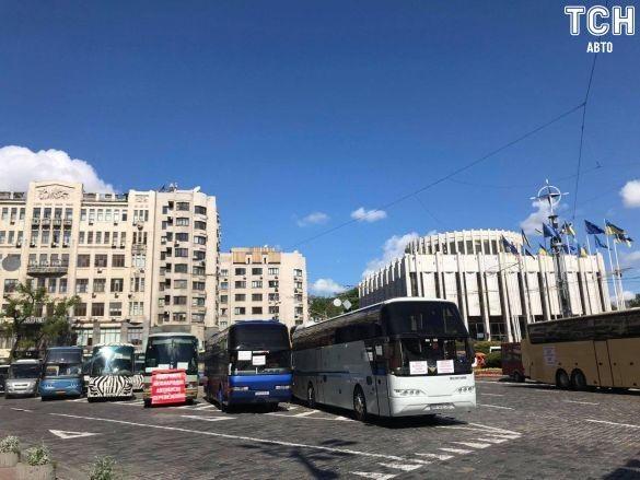 Акція протесту автоперевізників