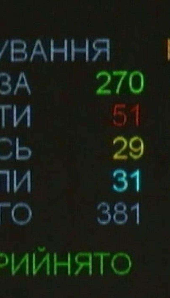 Верховна Рада ухвалила закон про неповернення банків колишнім власникам
