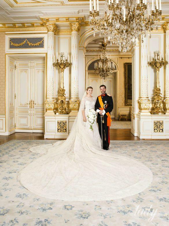 Принц Люксембурга Гийом и принцесса Стефания_3