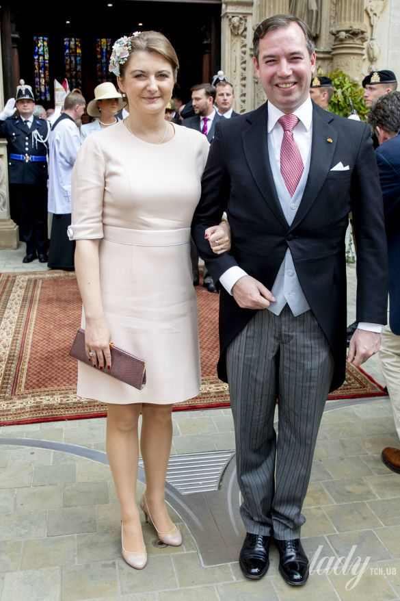 Принц Люксембурга Гийом и принцесса Стефания_1