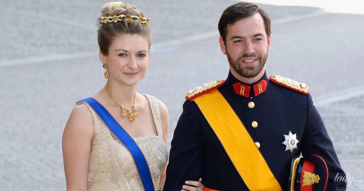 Принц Люксембургу Гійом і його дружина принцеса Стефанія показали фото свого новонародженого сина