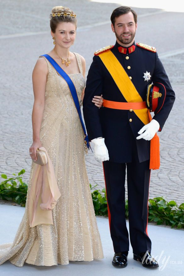 Принц Люксембурга Гийом и принцесса Стефания_4
