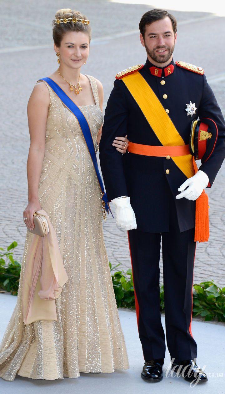 Принц Люксембургу Гійом і принцеса Стефанія
