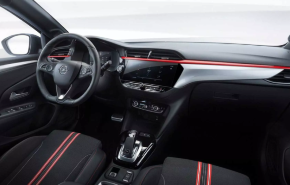 Opel Corsa, салон