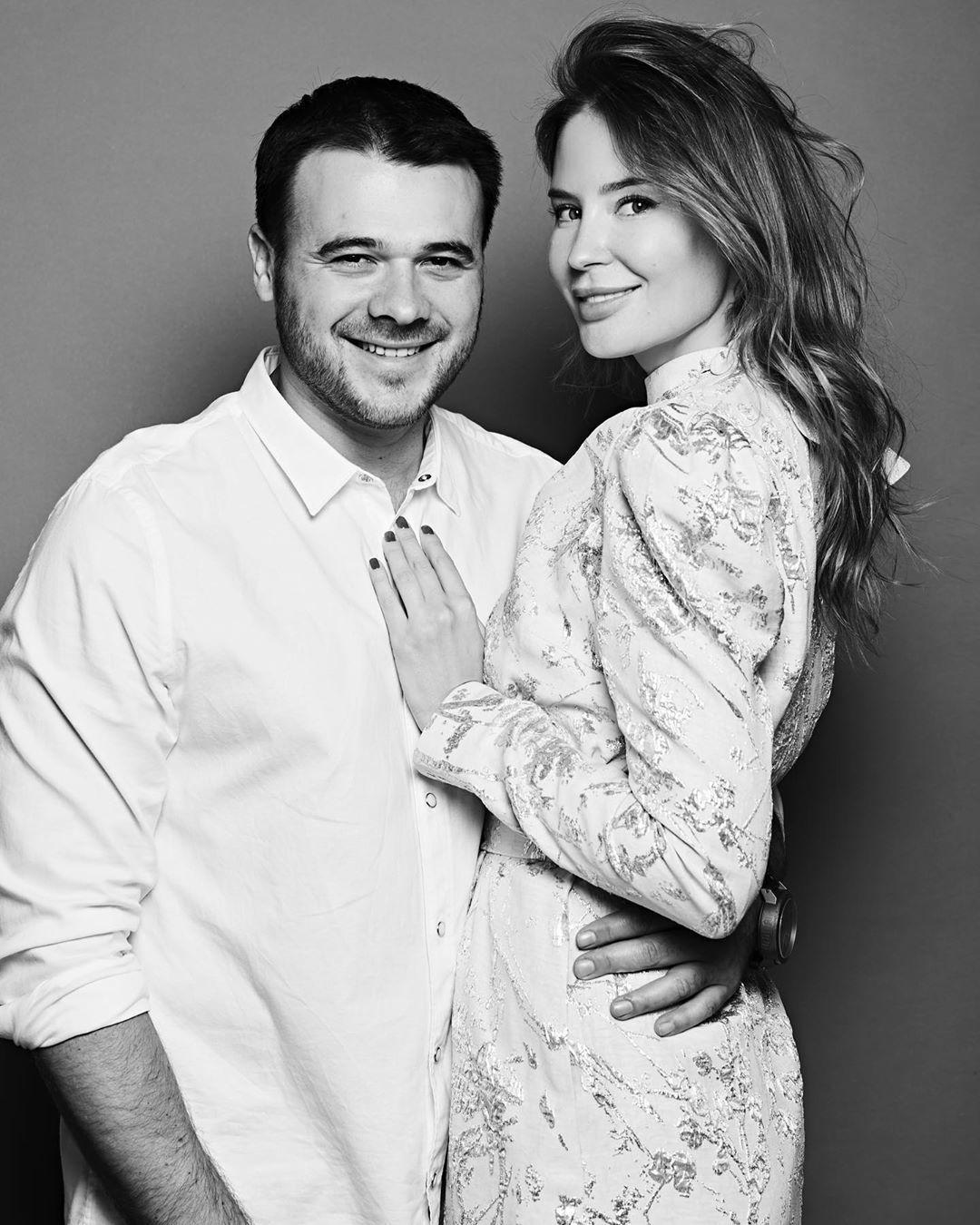 Емін Агаларов з дружиною_2