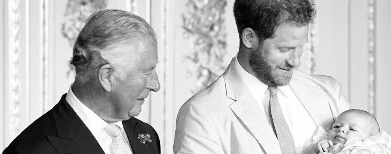 Чарльз и Камилла поделились милым фото сына Сассексов в день его рождения