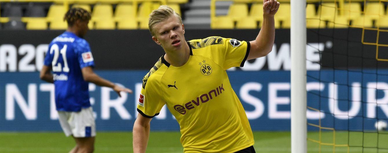 Неудержимый Холанд забил первый гол в Бундеслиге после рестарта сезона