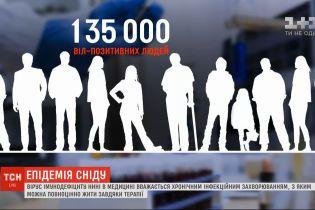 Епідемія, яка триває десятки років: в Україні зареєстровано 135 тисяч ВІЛ-позитивних людей