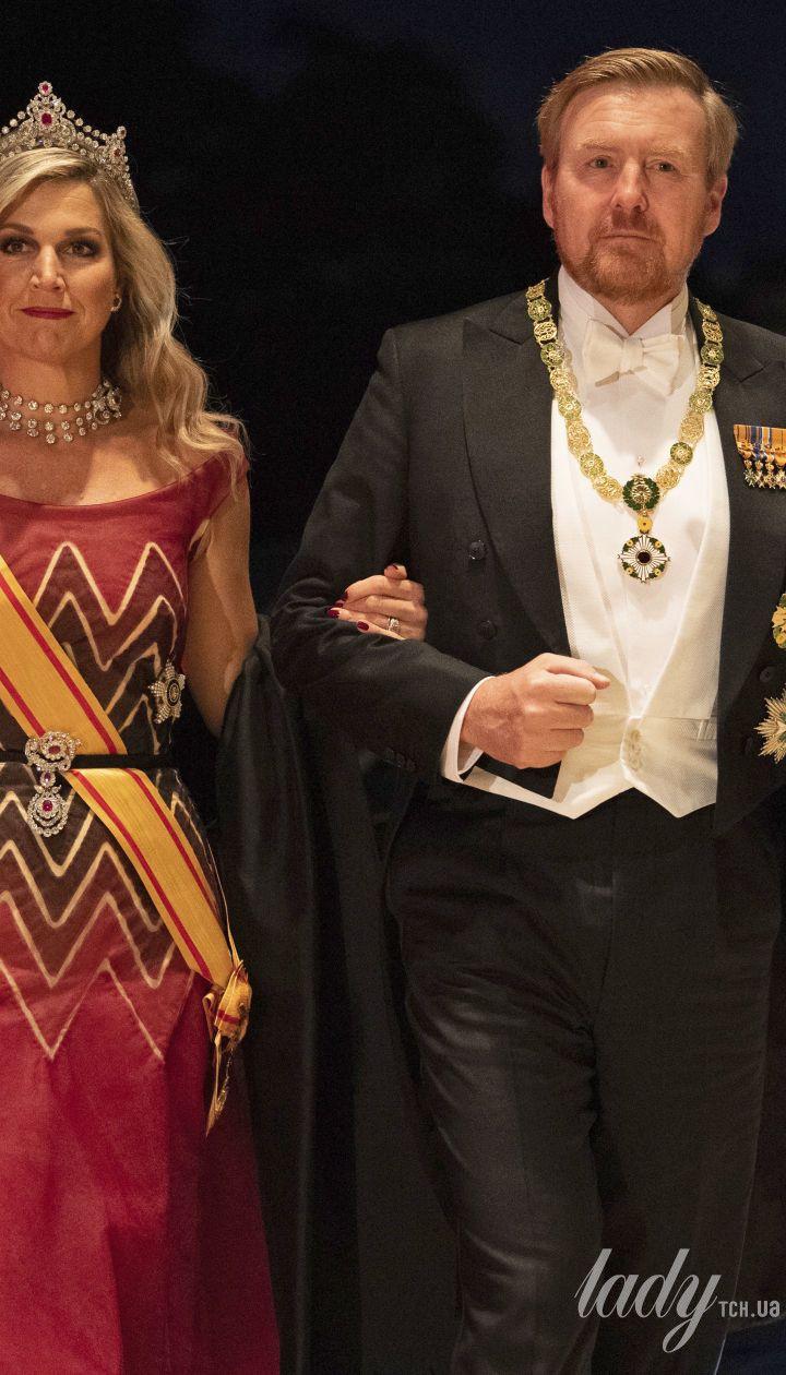 Королева Максима с мужем