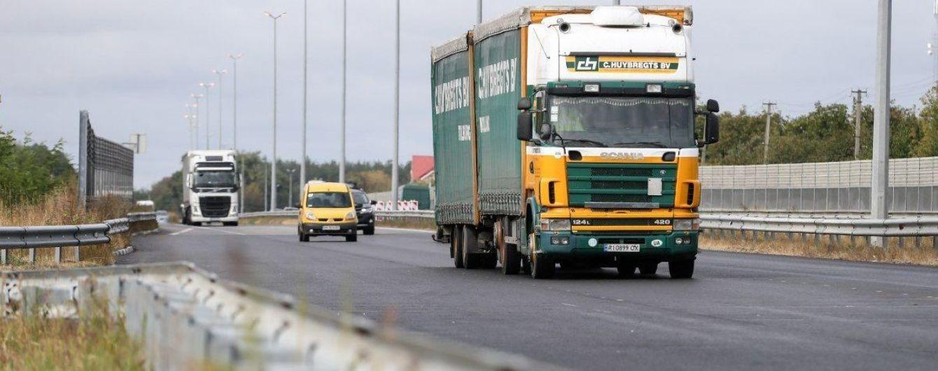 Киев ограничил въезд грузовиков: какая ситуация на трассе