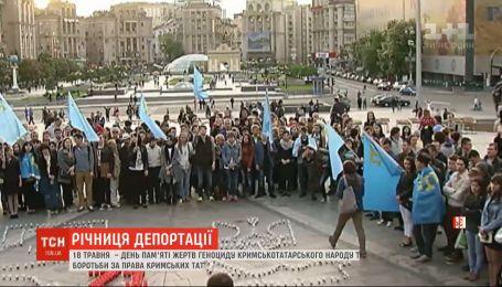 18 травня відзначається День пам'яті жертв геноциду кримськотатарського народу