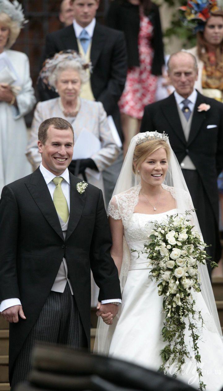 Весілля Пітера Філліпса і Отем Келлі