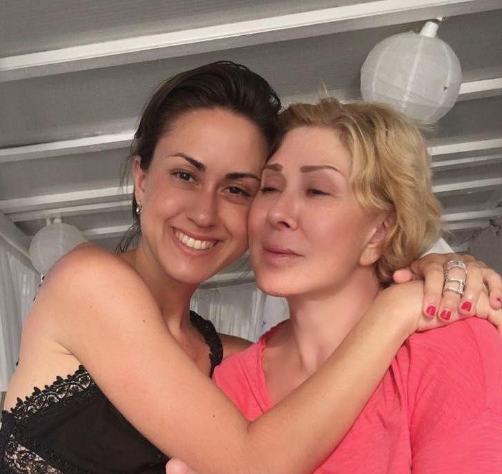 Любов Успенська з донькою