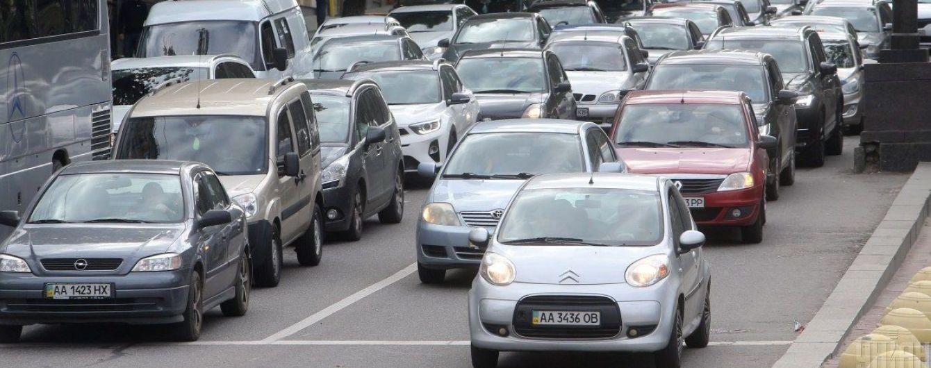 Пробки в Киеве: ситуация по состоянию на утро 24 июля