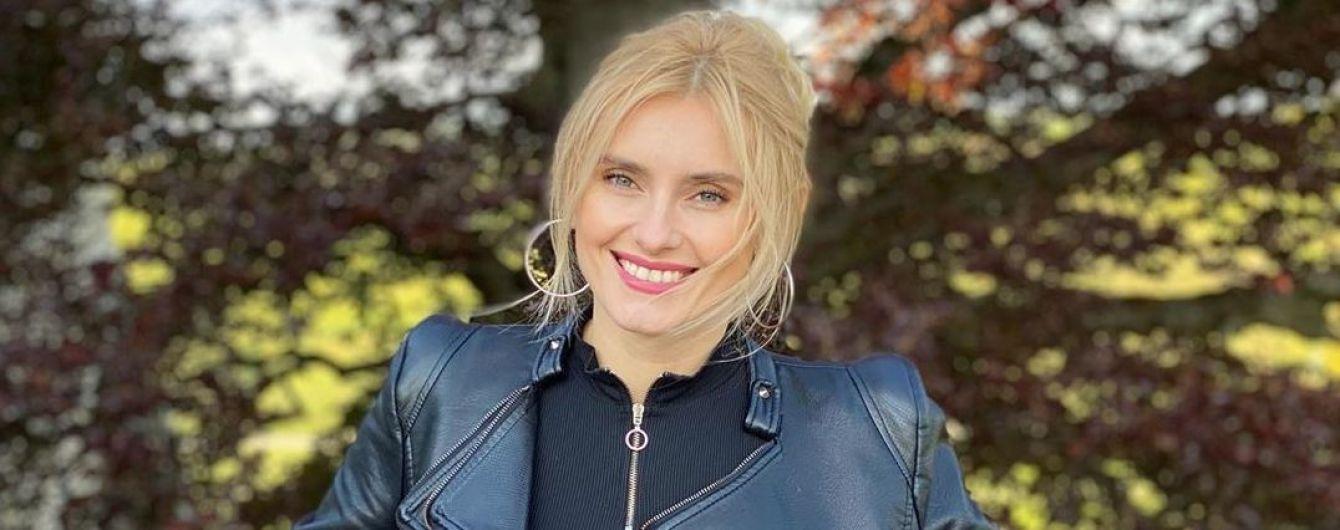 Ірина Федишин в ультракороткій спідниці шокувала сміливим образом рок-діви