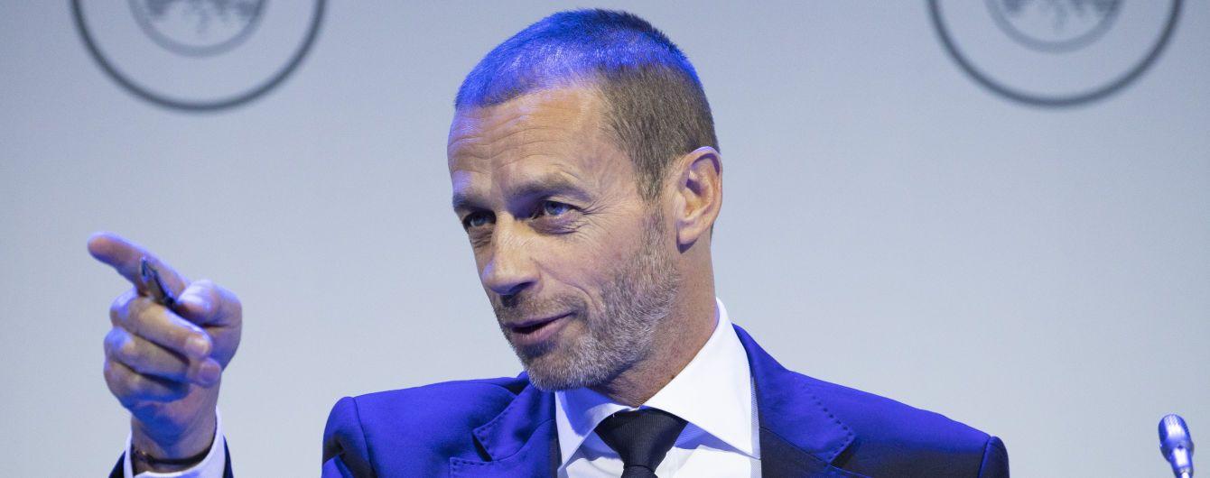 В УЕФА объяснили, когда страны должны доиграть футбольные чемпионаты
