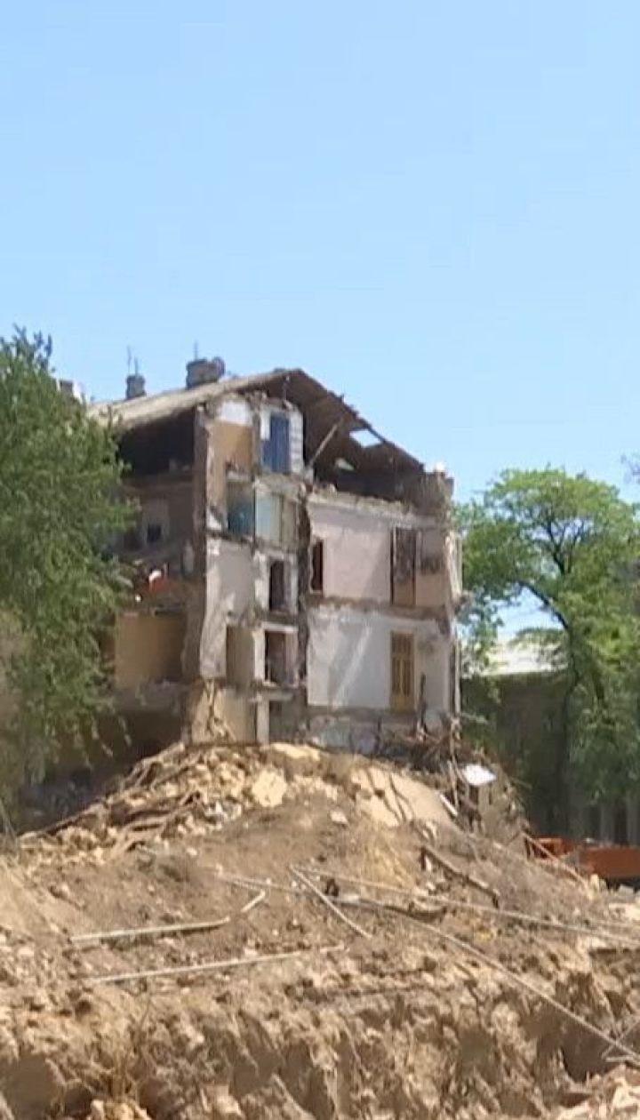 Поліція назвала ймовірну причину обвалу будинку в Одесі