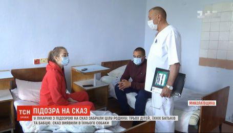 С подозрением на бешенство в Николаевской области госпитализировали целую семью