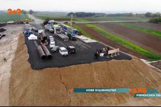 У Рівненському регіоні взялися за будівництво кільцевої дороги