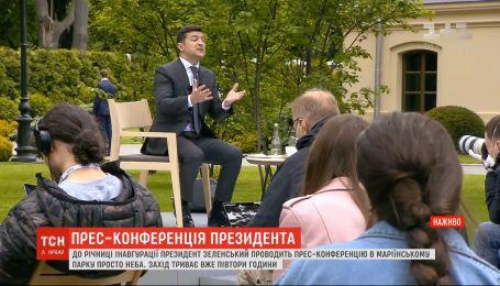Пресс-конференция президента: не замерзли ли журналисты и установят ли новый рекорд