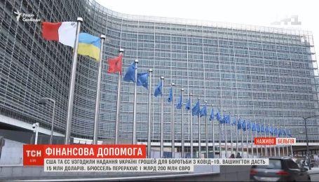 США та ЄС узгодили надання грошей Україні для боротьби з коронавірусом