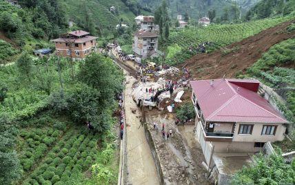 На черноморском побережье Турции началось наводнение: затоплены города и села