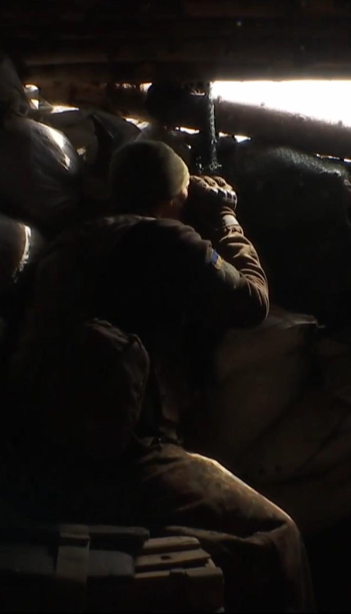 Міна потрапила в траншею: на Донбасі поранено двох українських бійців через обстріл бойовиків