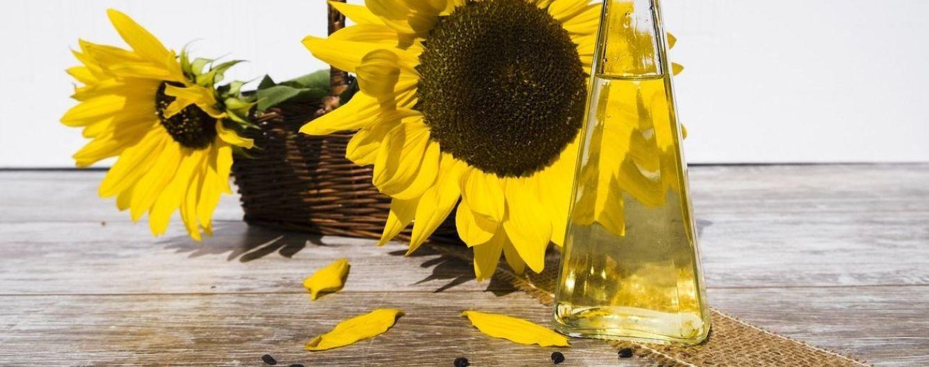 Украина экспортировала рекордное количество подсолнечного масла
