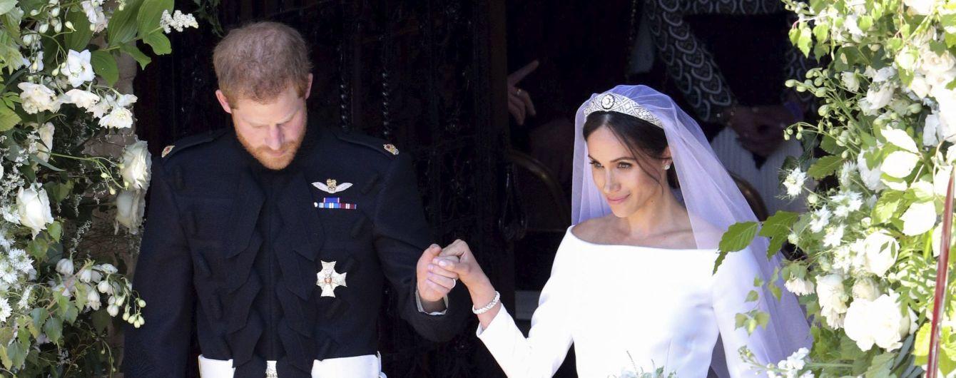 Економна Маркл привітала Гаррі з річницею весілля власноруч зробленим подарунком