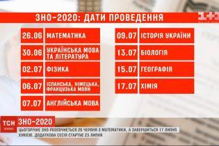 Міносвіти оприлюднило дати проведення ЗНО-2020