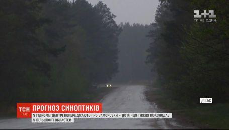 В Украине синоптики предупреждают о заморозках на почве