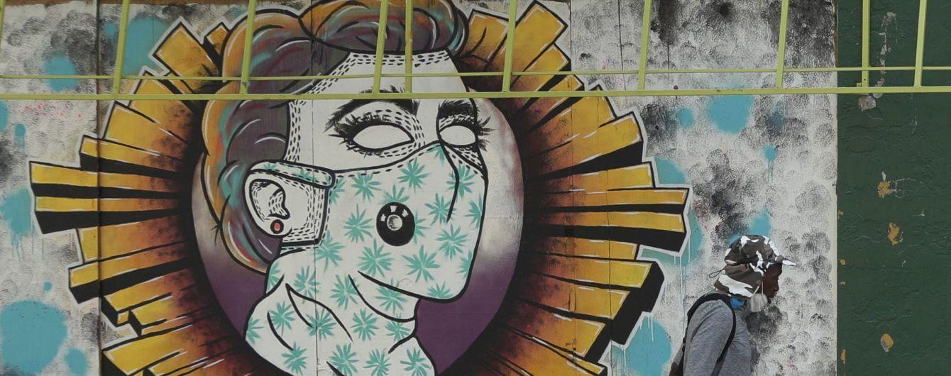 Пандемия коронавируса: как уличное искусство выражает страхи и ...