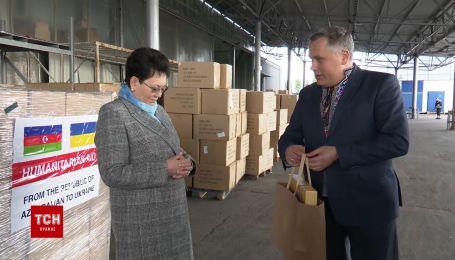 До України з Азербайджану прибув літак з гуманітарною допомогою