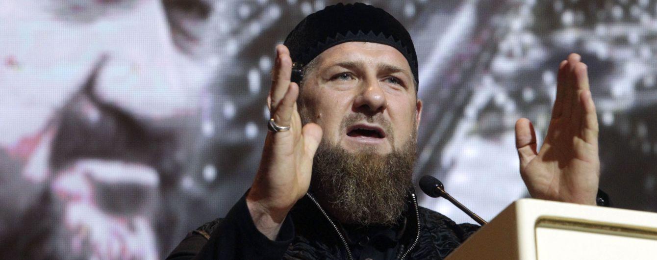 Лідера Чечні Кадирова забрали до лікарні з підозрою на коронавірус - росЗМІ
