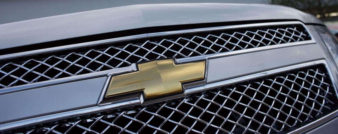 В Сети появились фото кроссовера Chevrolet за 10 тысяч долларов