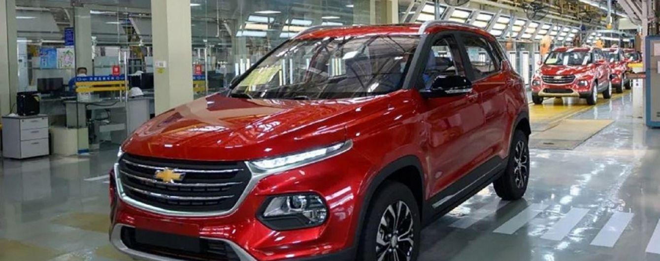 Chevrolet виводить на ринок бюджетний кросовер