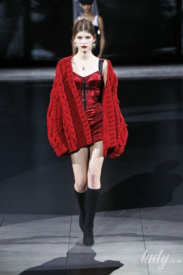 Коллекция  Dolce & Gabbana прет-а-порте сезона осень-зима 2020-2021_60