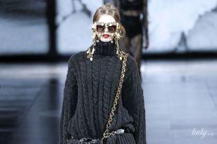 Трикотаж і сексуальність в колекції Dolce & Gabbana сезону осінь-зима 2020-2021