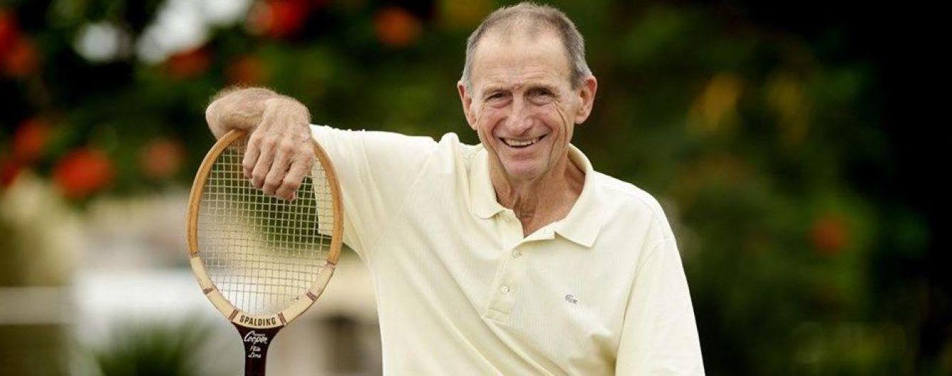 """Умер легендарный теннисист, который выиграл восемь """"Больших шлемов"""""""