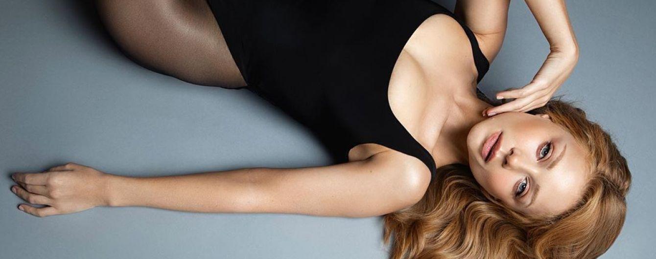 Сексапильная Тина Кароль без нижнего белья засветила грудь в мужской рубашке